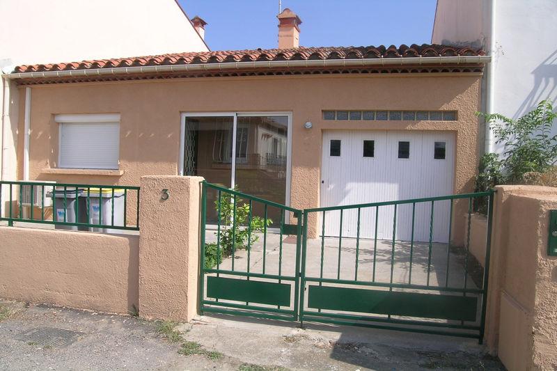 Villa Le Boulou  Location villa  2 chambres   55m²