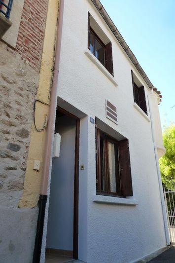 Maison de village Palau-del-Vidre Centre-ville,   achat maison de village  2 chambres   54m²