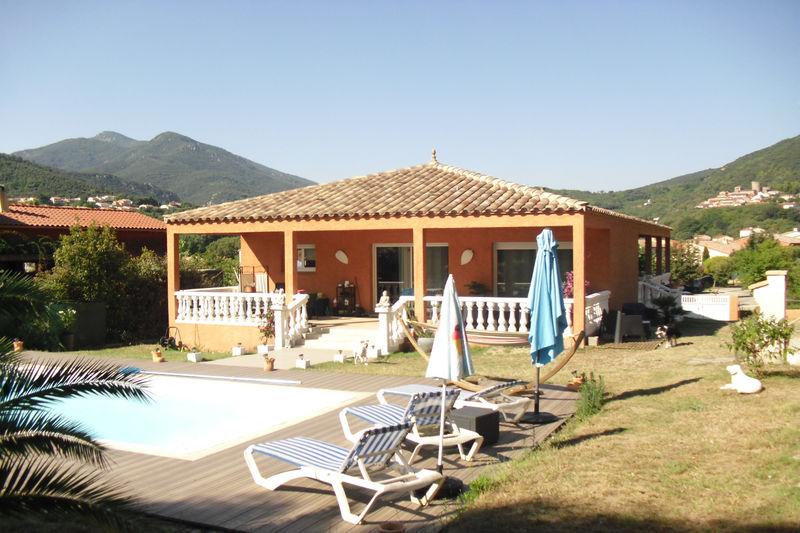 Villa Amélie-les-Bains-Palalda Vallespir,   achat villa  3 chambres   142m²