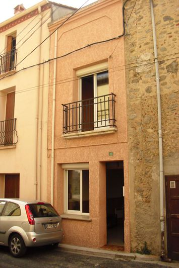 Maison de village Saint-Jean-Pla-de-Corts Vallespir,   achat maison de village  1 chambre   37m²