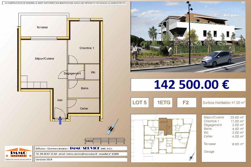 Appartement Saint-Cyprien Proche mer,   achat appartement  2 pièces   47m²