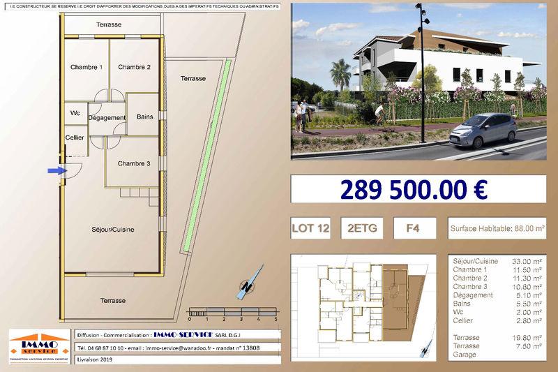 Appartement Saint-Cyprien Proche mer,   achat appartement  4 pièces   88m²