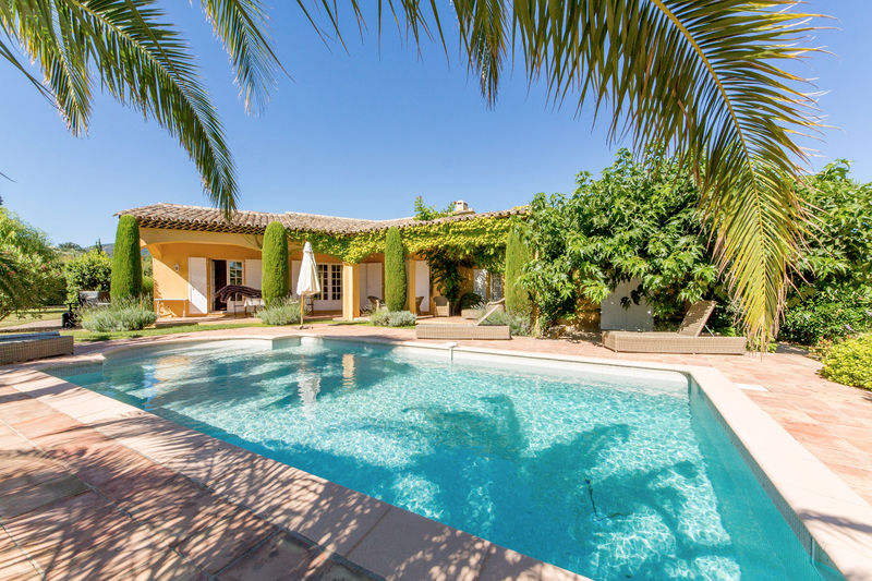 Vente villa Grimaud  Villa Grimaud Golfe de st tropez,   achat villa  3 chambres   180m²