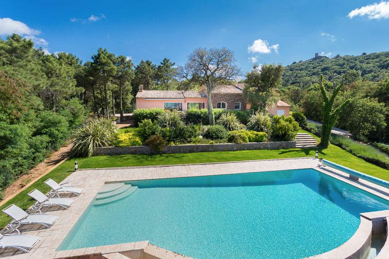 Vente villa Gassin  Villa Gassin Golfe de st tropez,   to buy villa  6 bedroom   350m²