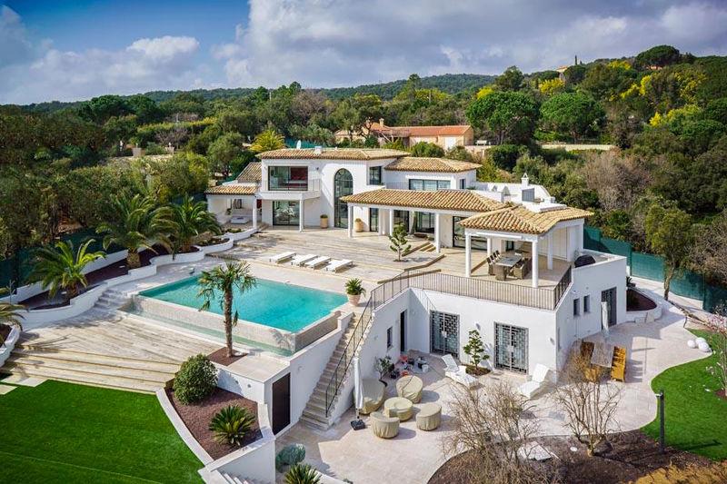 Vente villa Grimaud  Villa Grimaud Golfe de st tropez,   achat villa  5 chambres   350m²