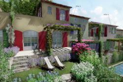 Vente maison de village Gassin esquisse villa 2 - 3 - 4-1