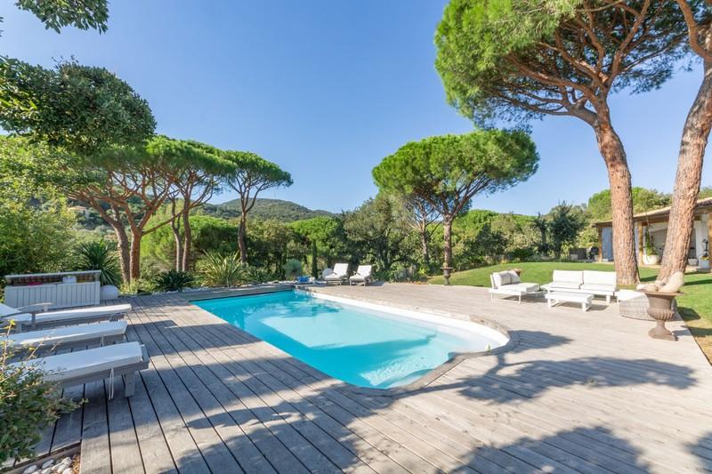 Vente villa Grimaud  Villa Grimaud Golfe de st tropez,   achat villa  4 chambres   180m²