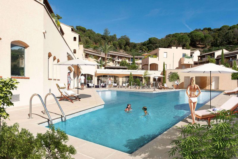 Vente appartement La Croix-Valmer  Apartment La Croix-Valmer Golfe de st tropez,   to buy apartment  2 rooms   53 m²