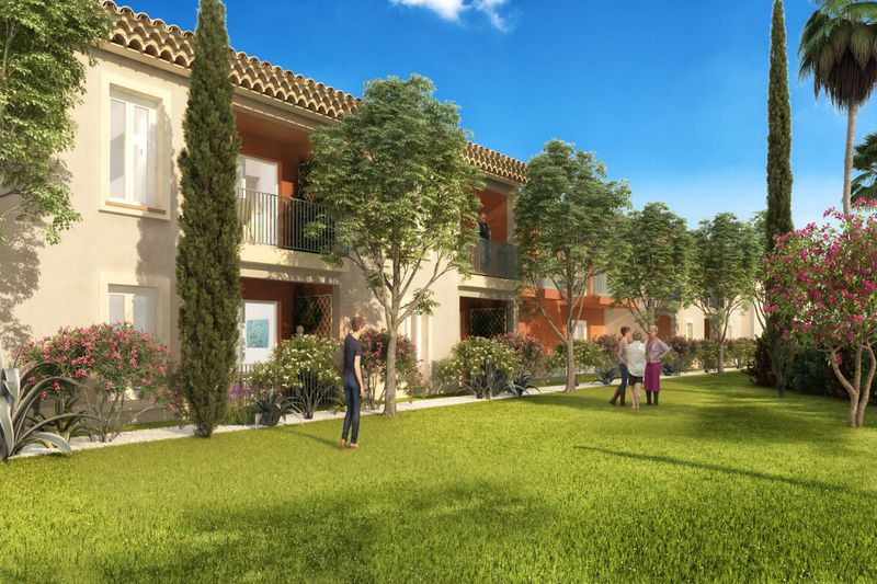 Vente appartement Grimaud  Apartment Grimaud Golfe de st tropez,   to buy apartment  2 rooms   60 m²