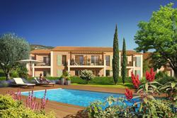 Vente appartement Le Plan-de-la-Tour ECRIN_VERT- Perspective piscine