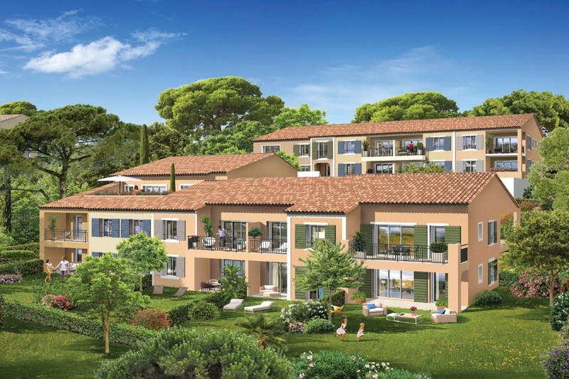 Vente appartement Cogolin  Apartment Cogolin Golfe de st tropez,   to buy apartment  3 rooms   55 m²