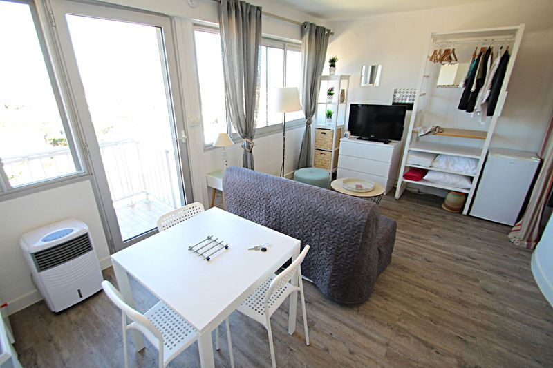 Photo n°1 - Location appartement Canet-en-Roussillon 66140 - 480 €
