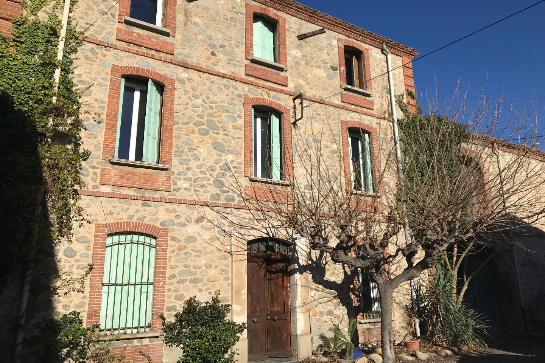 Vente maison en pierre perpignan 66000 348 000 - Jardin maison contemporaine perpignan ...