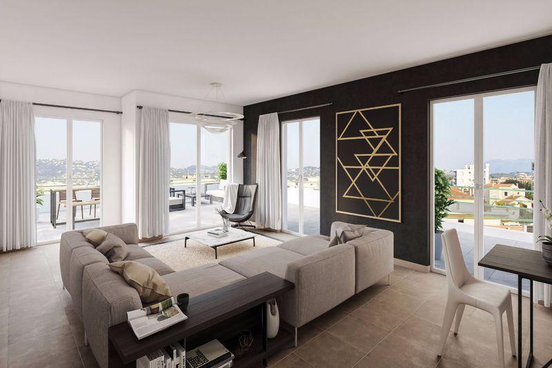 Photo Appartement Juan-les-Pins Riviera,   achat appartement  4 pièces   96m²