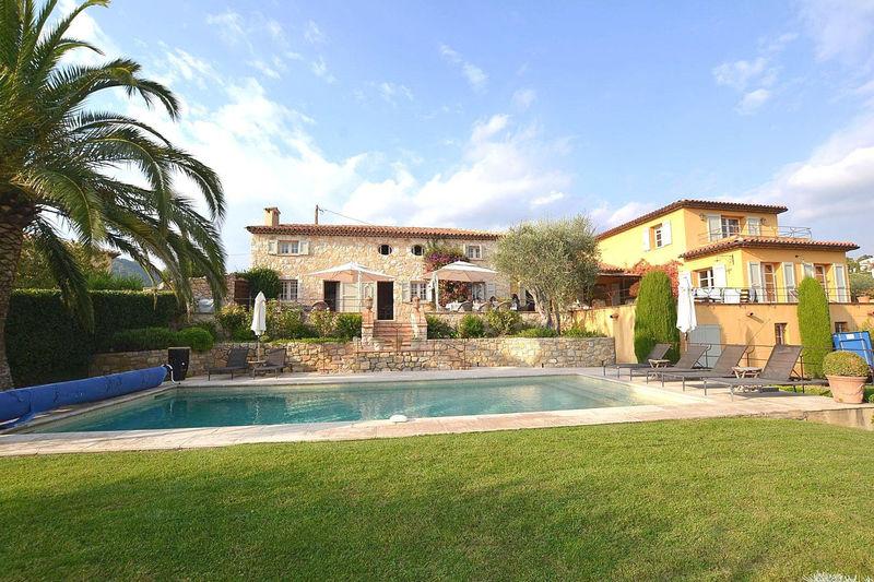 Photo Villa Grasse Riviera,   achat villa  5 chambres   212m²