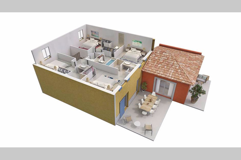 Photo n°6 - Vente Maison villa Grimaud 83310 - 725 340 €
