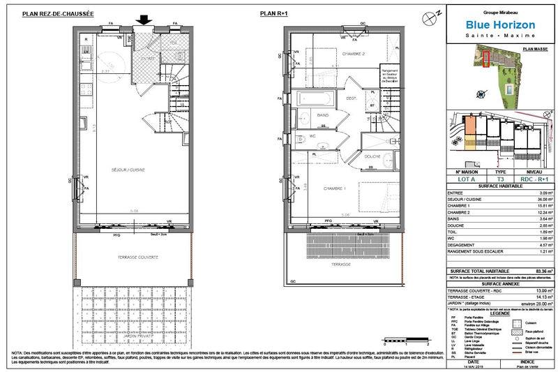 Photo n°4 - Vente Appartement duplex Sainte-Maxime 83120 - 760 000 €