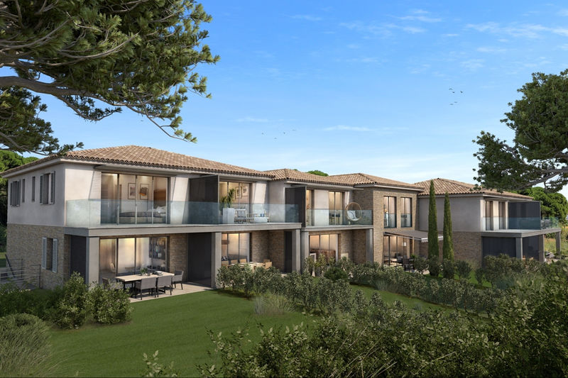 Photo n°1 - Vente Appartement duplex Sainte-Maxime 83120 - 760 000 €