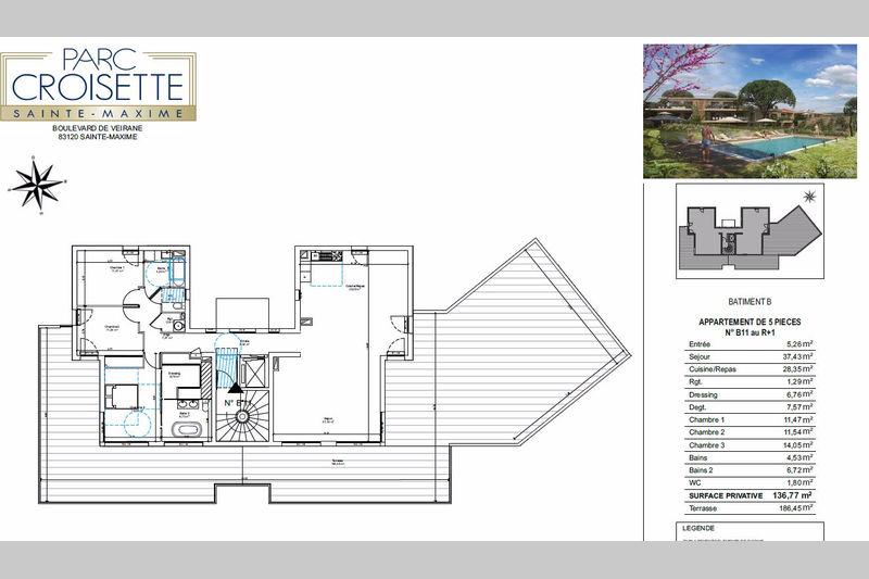 Photo n°8 - Vente appartement Sainte-Maxime 83120 - 1 998 000 €