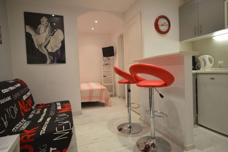Appartement Cannes Forville,  Location saisonnière appartement  1 pièce   25m²
