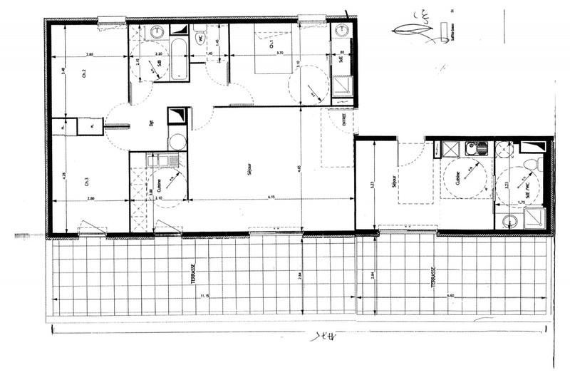 Photo n°5 - Vente appartement Castelnau-le-Lez 34170 - 438 000 €
