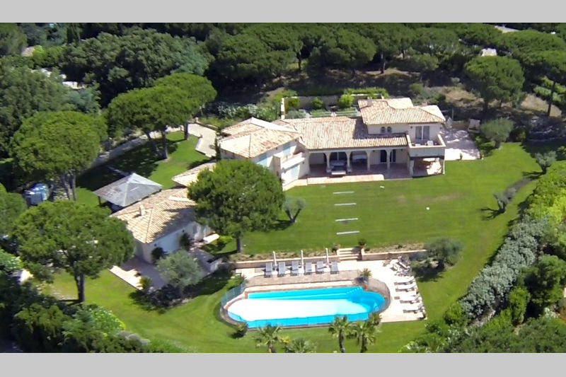 Villa Saint-Tropez Les parcs de saint tropez,  Location saisonnière villa  8 chambres   450m²