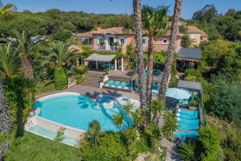 House Ramatuelle Pampelonne, proche club 55,  Vacation rental house  5 bedrooms   280 m²