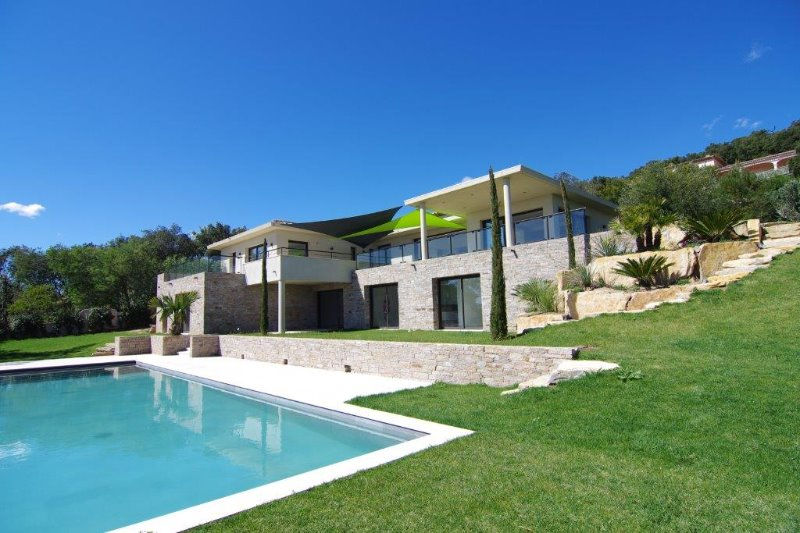 Photo Contemporary house Grimaud   to buy contemporary house  4 bedrooms   300 m²
