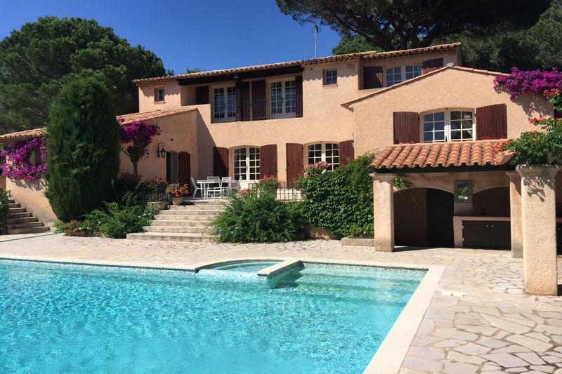 Photo Villa provençale Sainte-Maxime Front de mer,   achat villa provençale  4 chambres   200m²