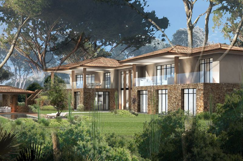 Terrain Saint-Tropez Front de mer,   achat terrain   3300m²