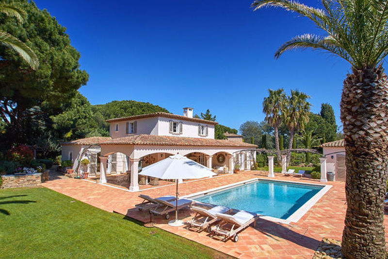Villa provençale Saint-Tropez Les parcs de saint tropez,   achat villa provençale  6 chambres   350m²