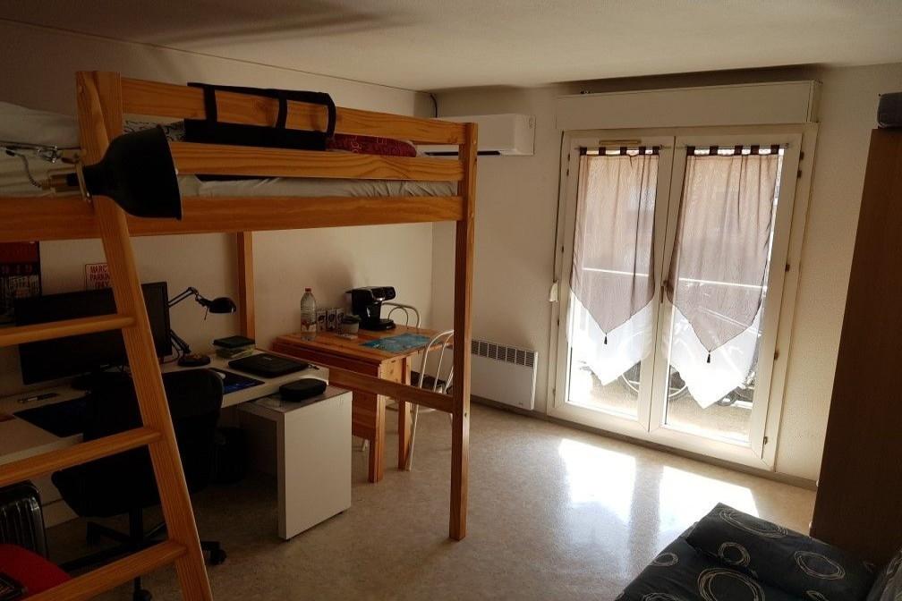 Photo Appartement Montpellier Zac de tournezy,  Location appartement  1 pièce   19m²