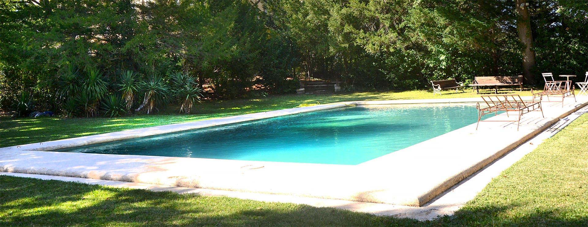 Villa et piscine à Aix en Provence