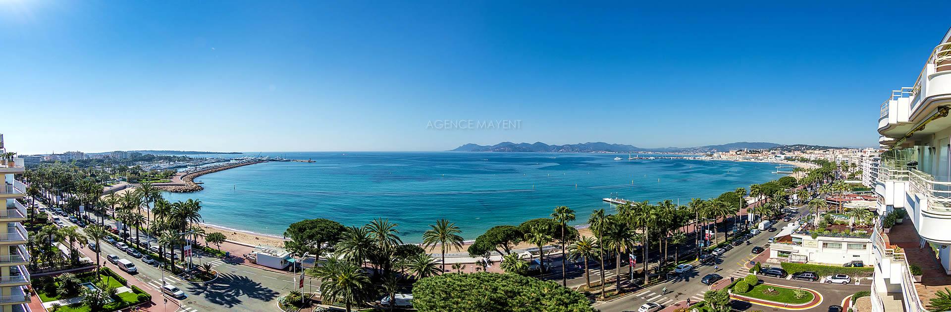 La vente d'appartement sur Cannes Croisette