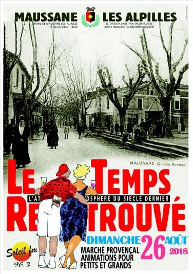 Photos LE TEMPS RETROUVE - LE 26 AOUT 2018 - MAUSSANE LES ALPILLES