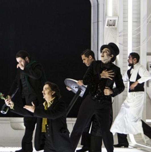 """Photos November 15 : Ballet """"La bohème"""" of Puccini"""