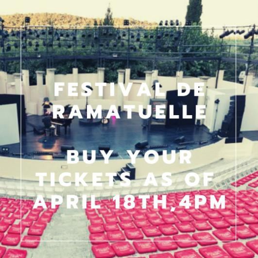 Photos 'Festival de Ramatuelle' - 2019 edition: as of 1/8