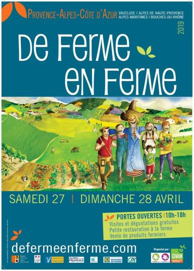 Photos De ferme en ferme le 27 et le 28 avril !
