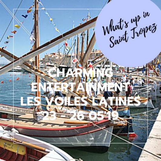Photos 19th Edition of 'Les Voiles Latines' in Saint-Tropez from 23 - 25th of May