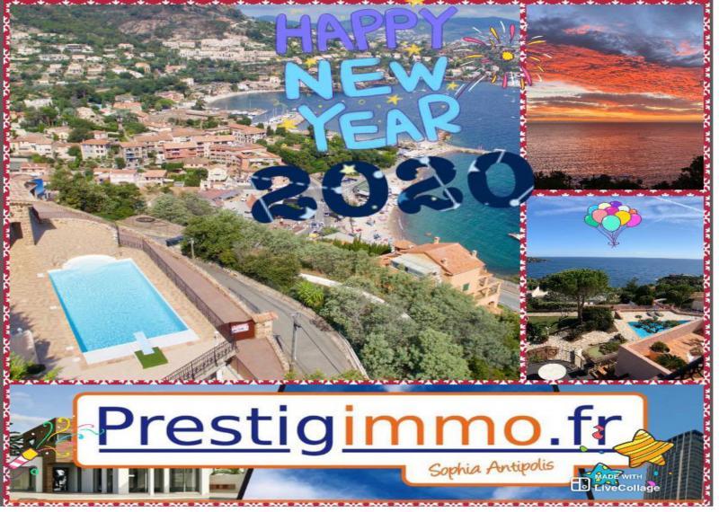 Photos Bonnes Année 2020! de l'Equipes Prestigimmo.fr sur SOPHIA ANTIPOLIS