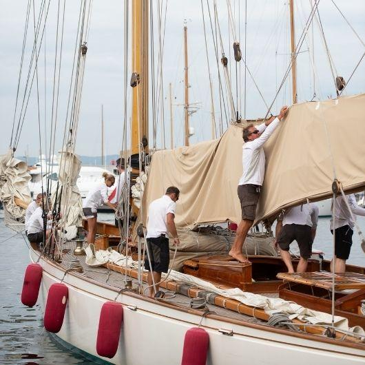 Photos Yes? Yes! Les Voiles de Saint-Tropez 2020 is taking place...