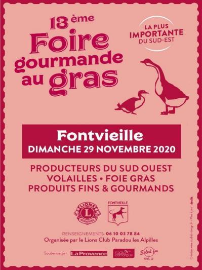 Photos Foire gourmande au gras - Fontvieille