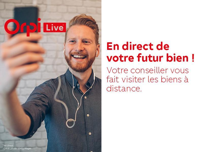 Photos Visitez votre futur bien en direct avec Orpi Live !