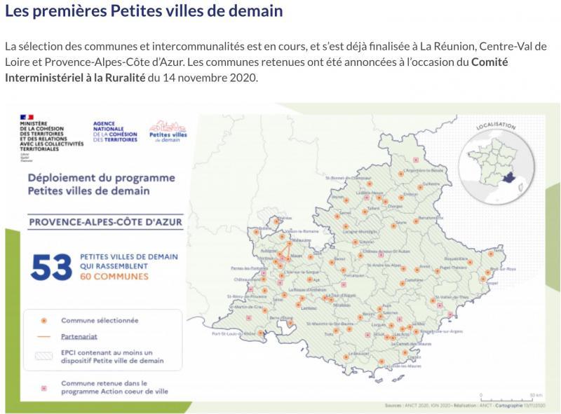 Photos LOI DENORMANDIE PETITE VILLE DE DEMAIN DU NOUVEAU