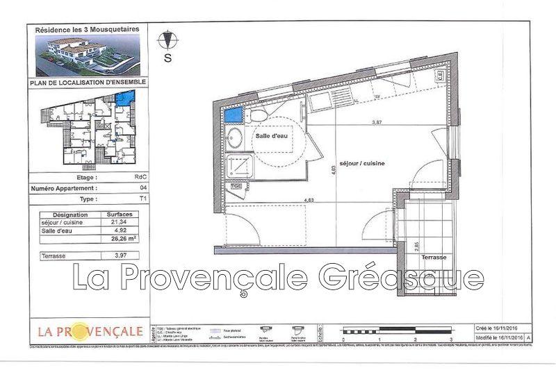 Photo n°2 - Vente appartement Gréasque 13850 - 130 000 €