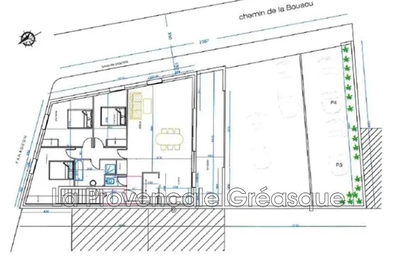 appartement  4 rooms  Rousset   115m² -