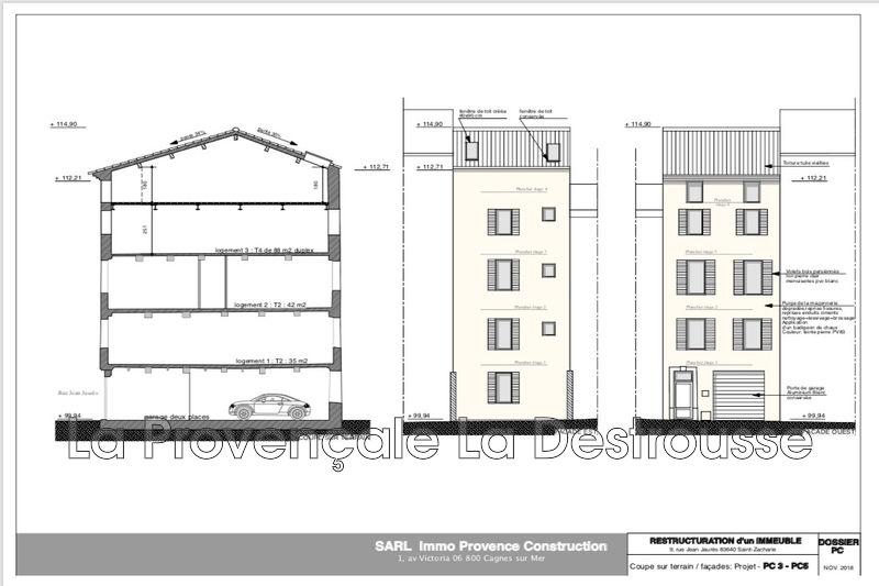 appartement  4 pièces  Saint-Zacharie Village  90m² -
