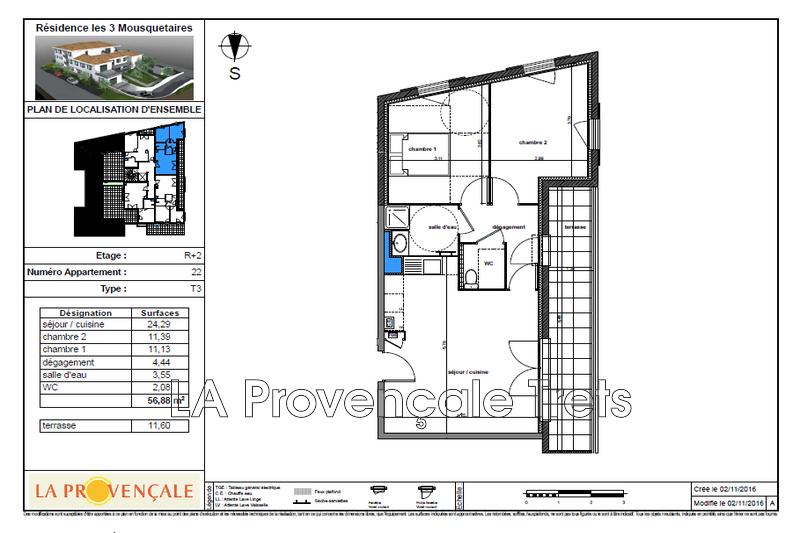 Photo n°3 - Vente appartement Gréasque 13850 - 251 500 €