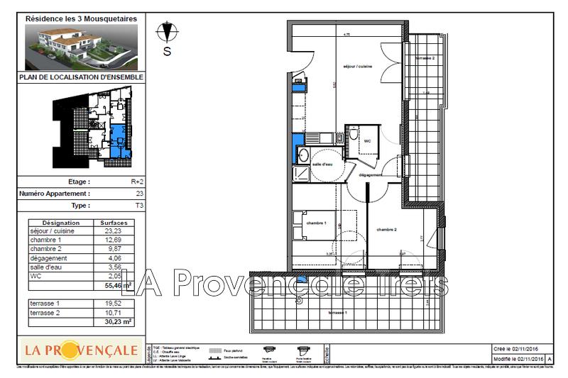Photo n°3 - Vente appartement Gréasque 13850 - 259 000 €
