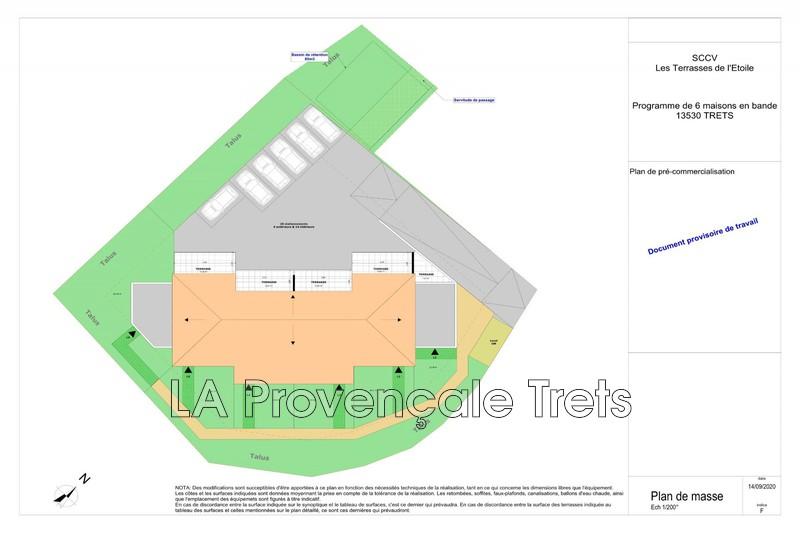 maison  4 pièces  Trets Village  98m² -